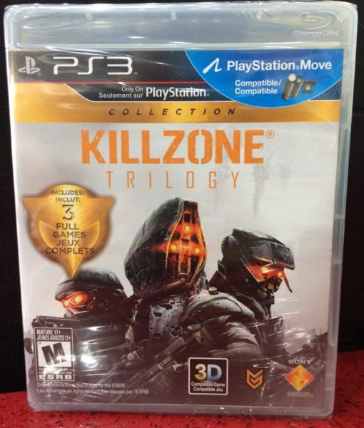 PS3 Killzone Trilogy game