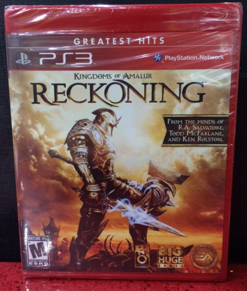 PS3 Kingdom of Amalur Reckoning game