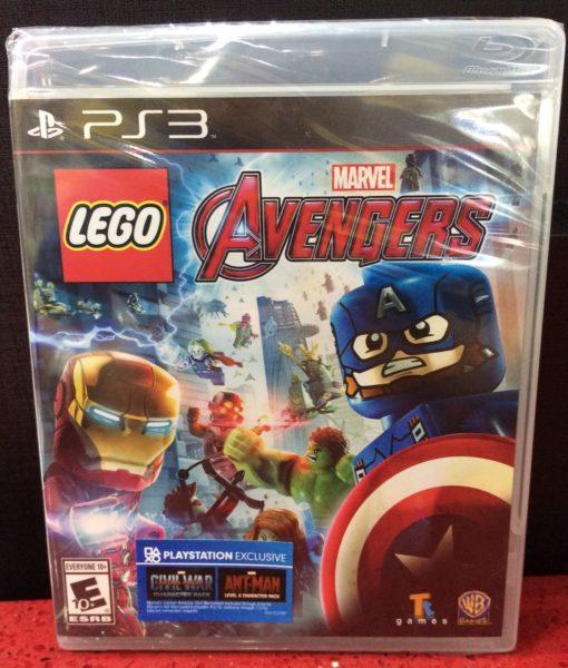 PS3 LEGO Marvel Avengers game