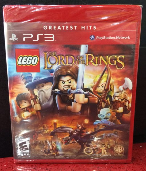 PS3 Lego Lord of The Ring game