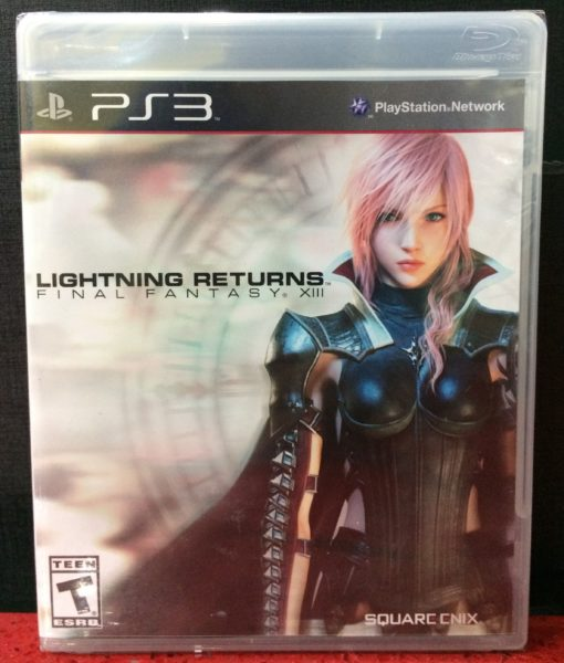 PS3 Lightning Returns FF XIII game