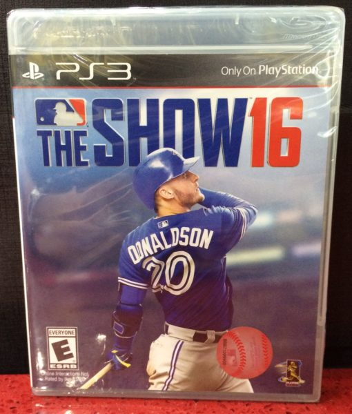 PS3 MLB 16 The Show game