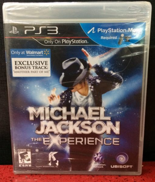 PS3 Michael Jackson the Experience game
