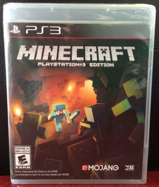 PS3 Minecraft game