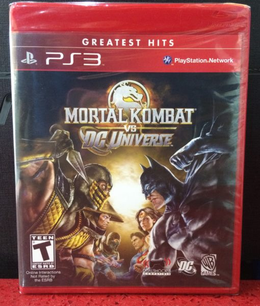 PS3 Mortal Kombat vs DC Universe game