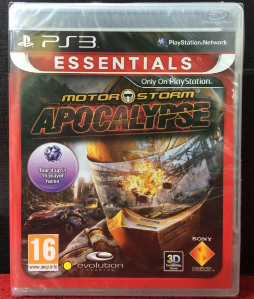 PS3 MotorStorm Apocalypse game