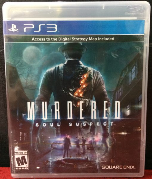PS3 Murdered Soul Suspect game