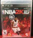 PS3 NBA 2K16 game