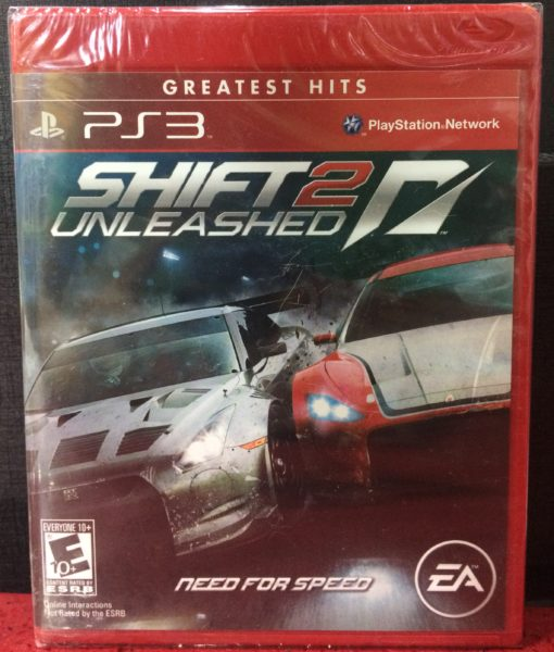 PS3 Need for Speed Shift 2 Unleashed game