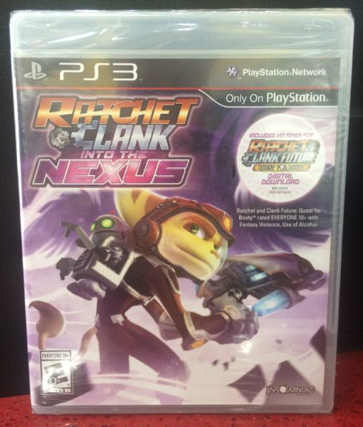 PS3 Ratchet Clank Into the Nexus game