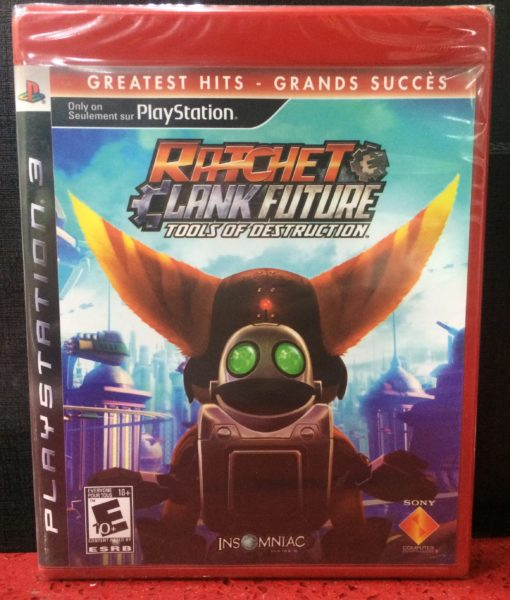 PS3 Ratchet Clank Tools of Destruction game