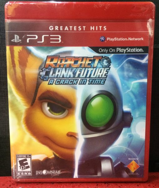 PS3 Ratchet Clank a Crack in Time game
