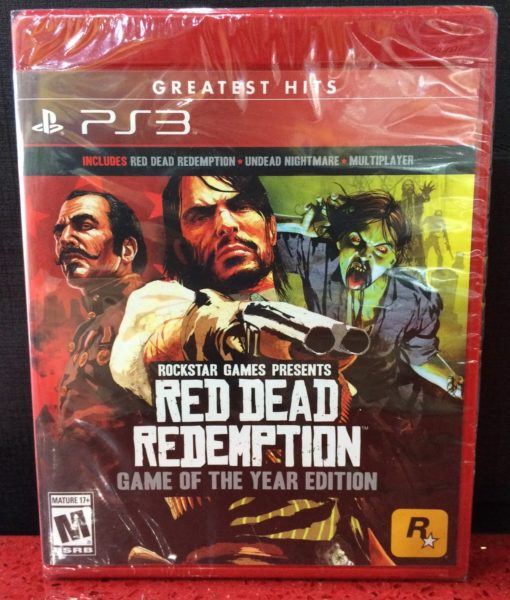 PS3 Red Dead Redemption Game of the Year game