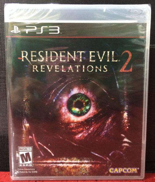PS3 Resident Evil Revelations 2 game