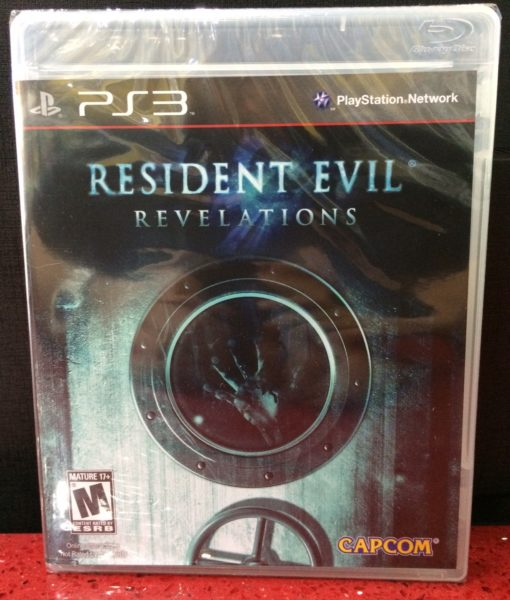 PS3 Resident Evil Revelations game