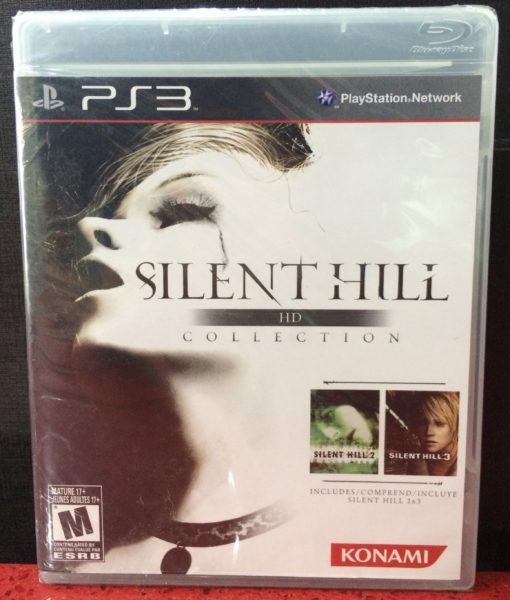 PS3 Silent Hill HD Collection game