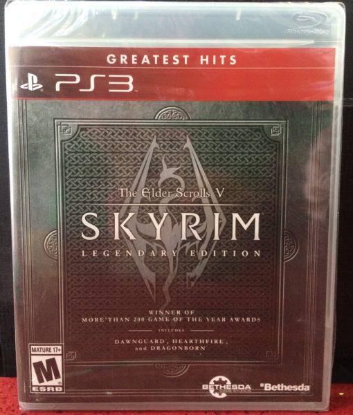 PS3 Skyrim Legendary Edition game
