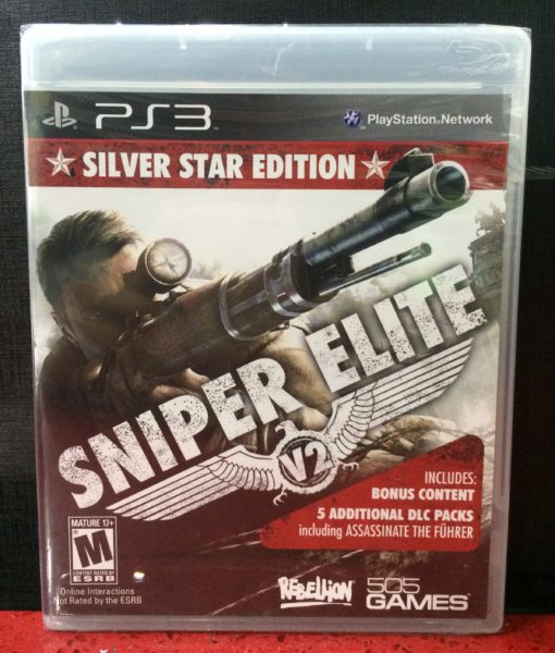 PS3 Sniper Elite V2 game
