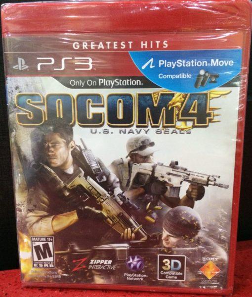 PS3 Socom 4 game