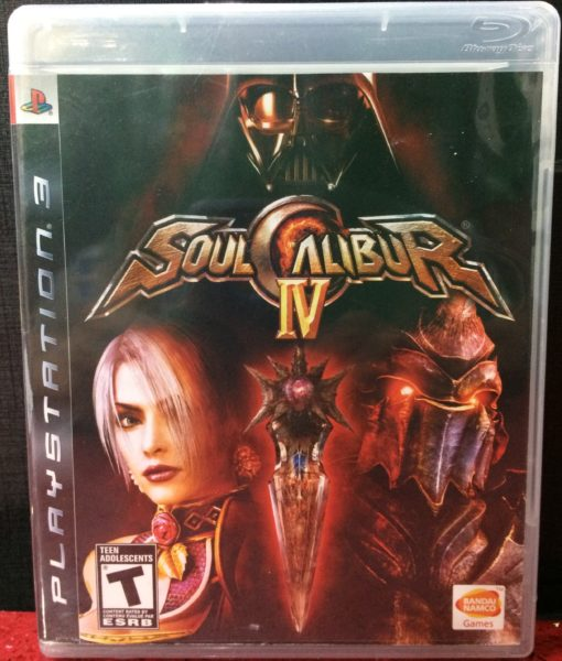 PS3 Soul Calibur IV game