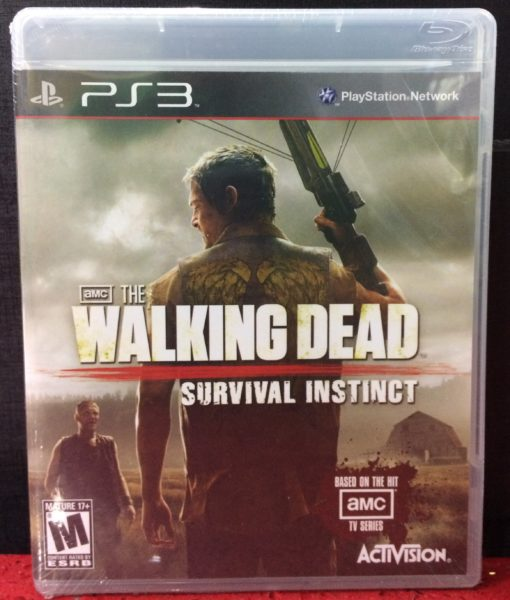 PS3 The Walking Dead Survival Instinct game