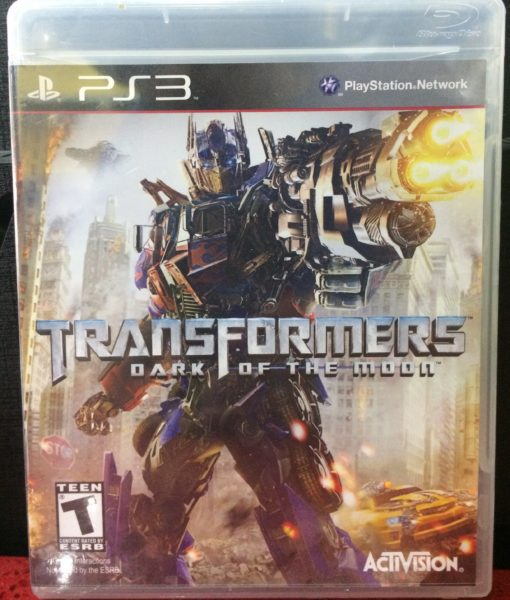 PS3 Transformers Dark Moon game