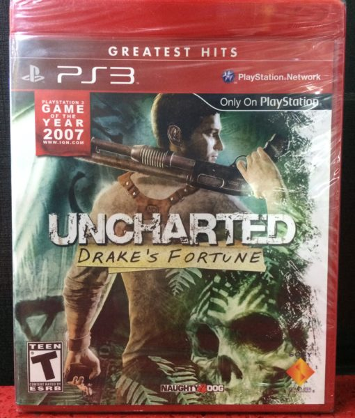 PS3 Uncharted Drakes fortune game