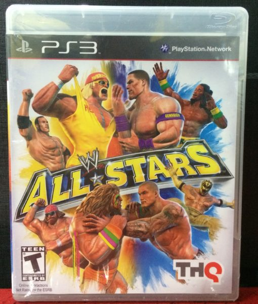 PS3 WW All Stars game