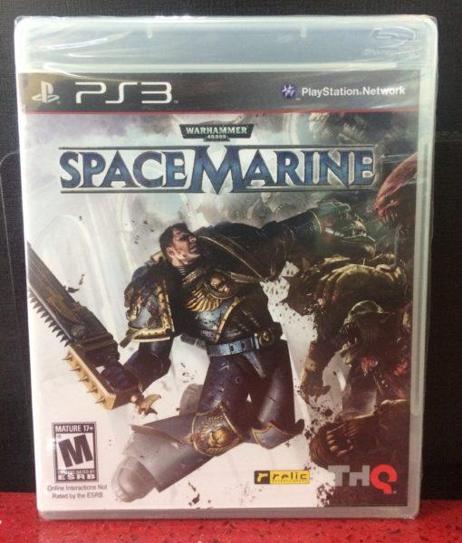 PS3 Warhammer Space Marine game