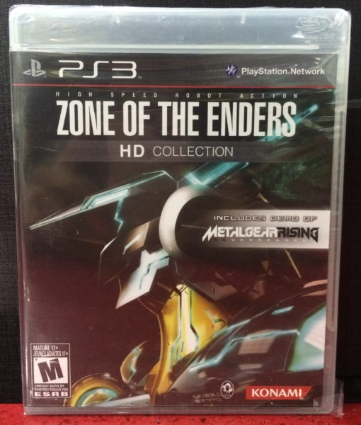 PS3 Zone of The Enders HD Collection game