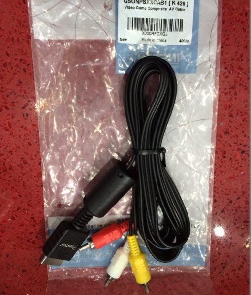 PS3 item PS2 item av cable (3 puntas) INSTEN