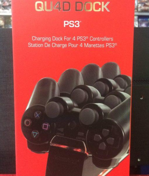 PS3 item Qu4d Dock Cargador 4 controles dreamGEAR