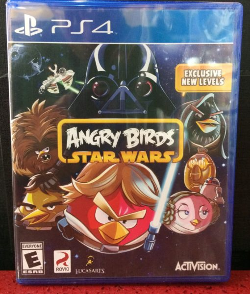 PS4 Angry Birds Star Wars game