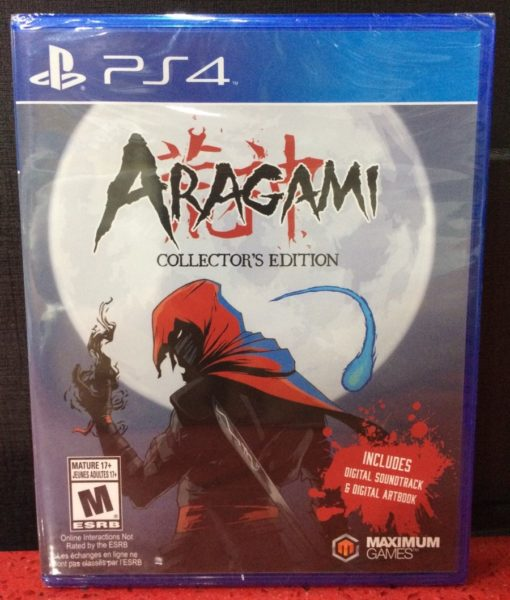 PS4 Aragami Collector Edition game