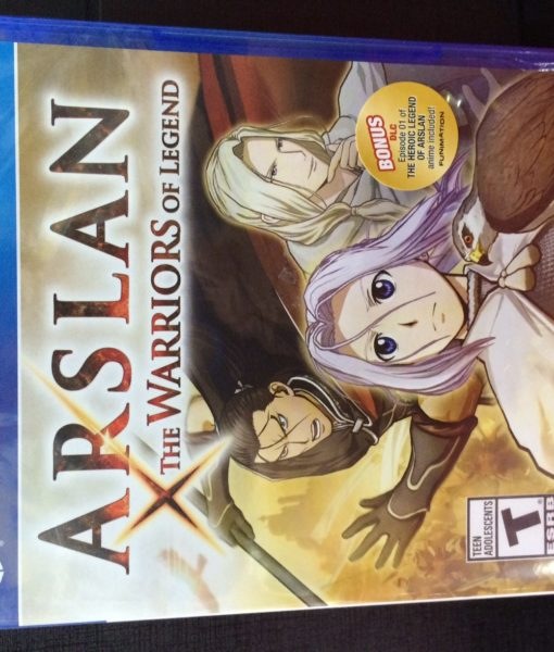 PS4 Arsland Warrior of Legend game