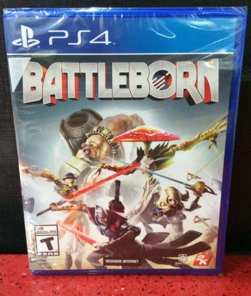 PS4 Battleborn game
