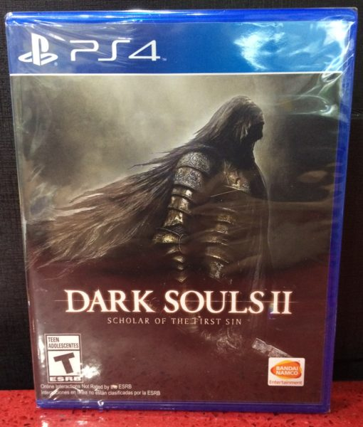 PS4 Dark Souls II Scholar of First Sin game
