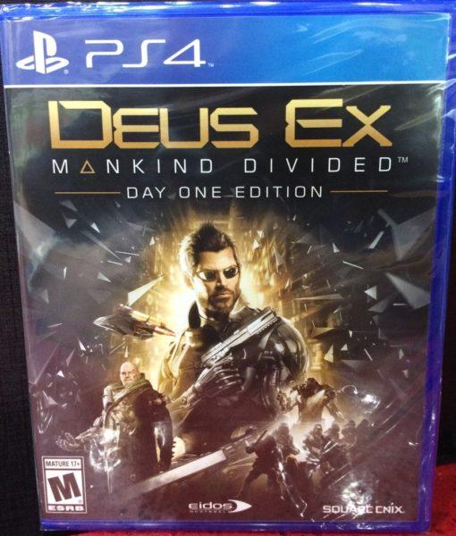PS4 Deus Ex Mankid Divided game