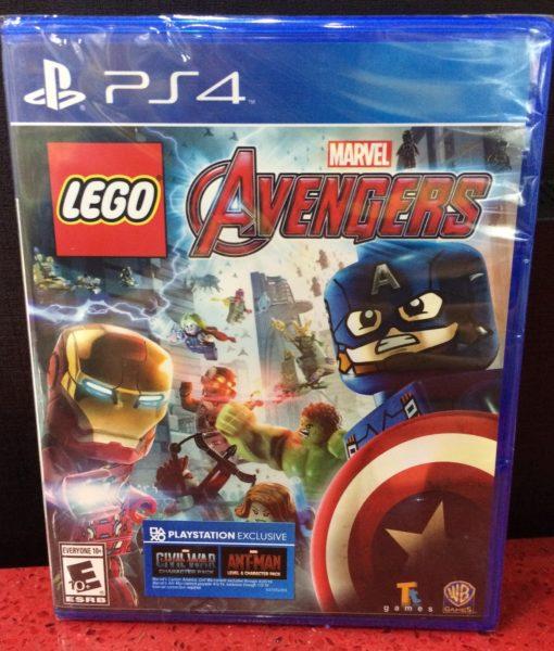 PS4 LEGO Marvel Avengers game
