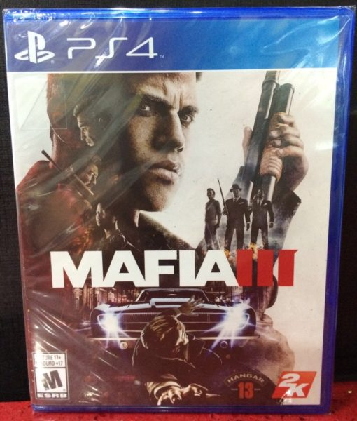 PS4 Mafia III game