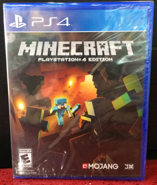 PS4 Minecraft game