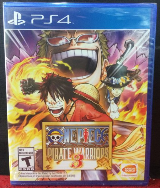 PS4 One Piece Pirate Warriors 3 metal case game