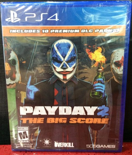 PS4 PAYDAY 2 The Big Score game