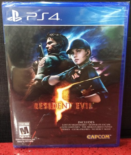 PS4 Resident Evil 5 HD game