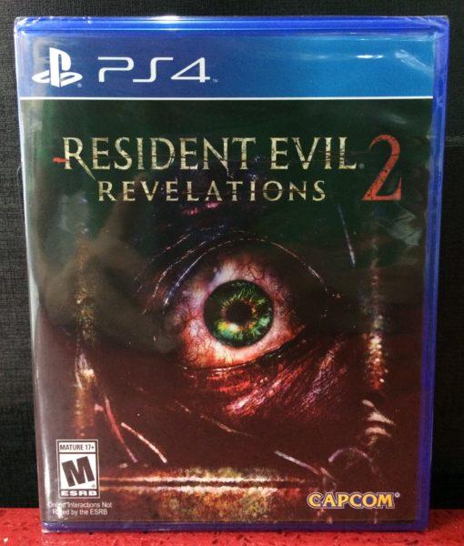 PS4 Resident Evil Revelations 2 game