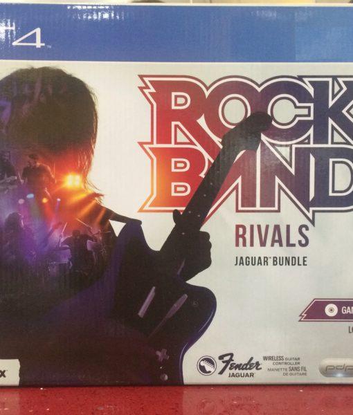 PS4 RockBand 4 Rivals con Guitarra game