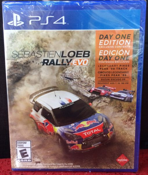 PS4 Sebastien Loeb Rally Evo game