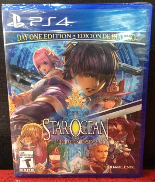 PS4 Star Ocean Integrity and Faithlessness game