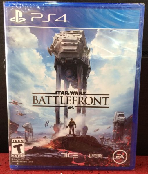 PS4 Star Wars Battlefront game