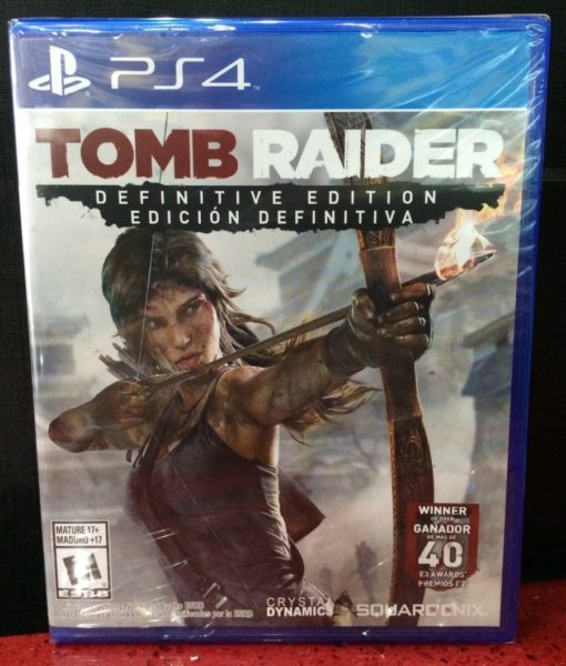 PS4 Tomb Raider Definitive Edition game